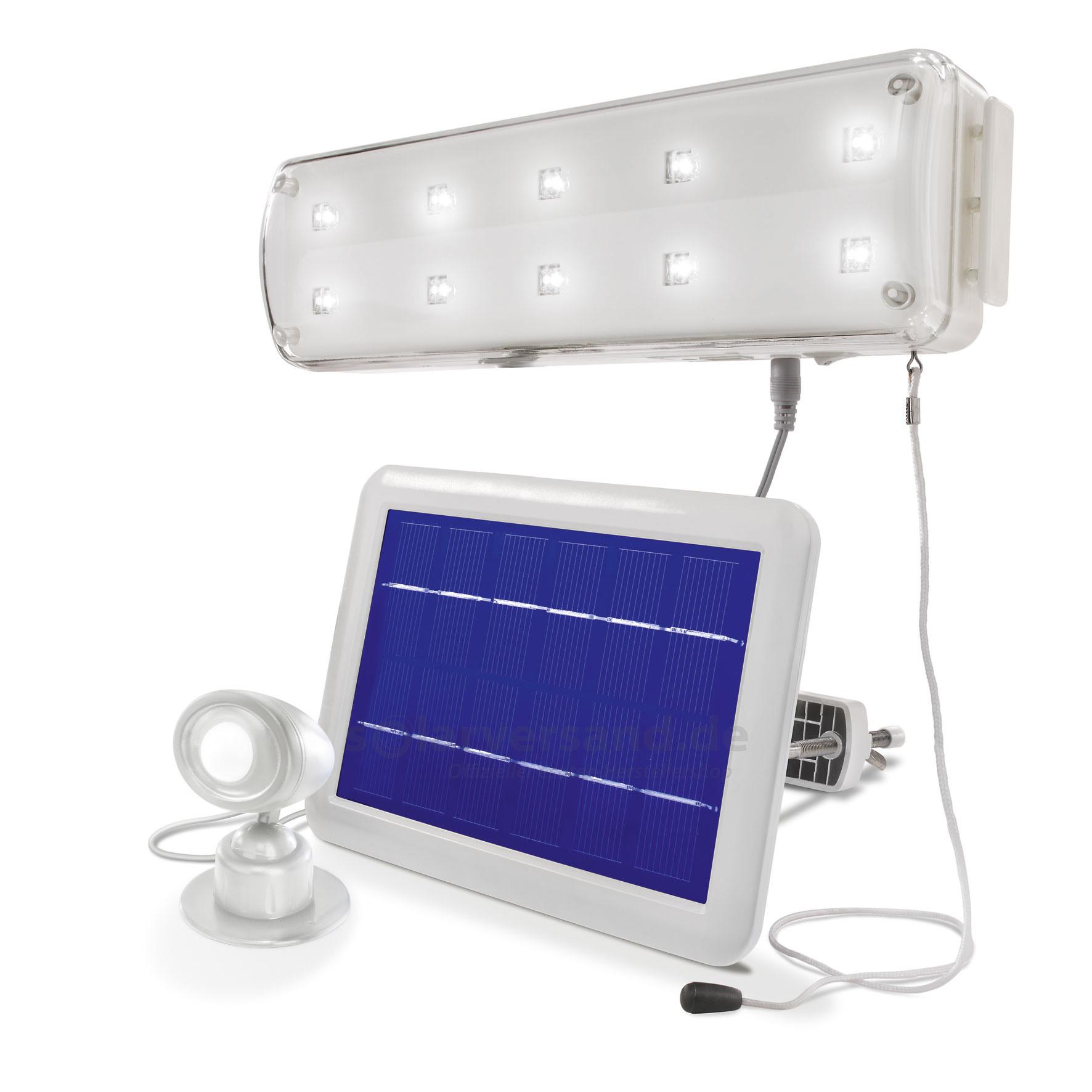 solar lichtsystem mit pir. Black Bedroom Furniture Sets. Home Design Ideas
