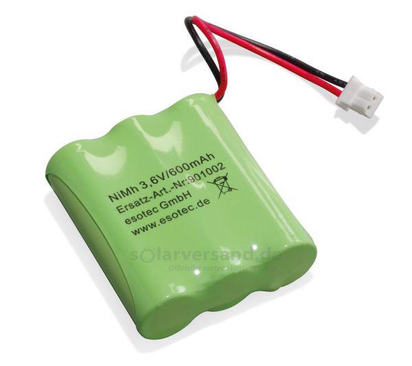 Ersatzakkupack NiMh 3,6V 600mAh - 901002
