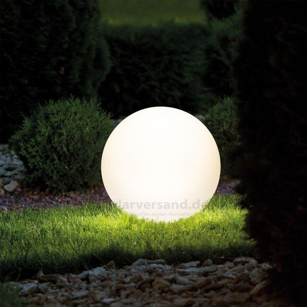 Kugelförmige Solar-Dekoleuchte Lumina 50 cm