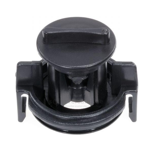 Abdeckung 59.0 mm mit Durchflussregler und Dichtung - 911043