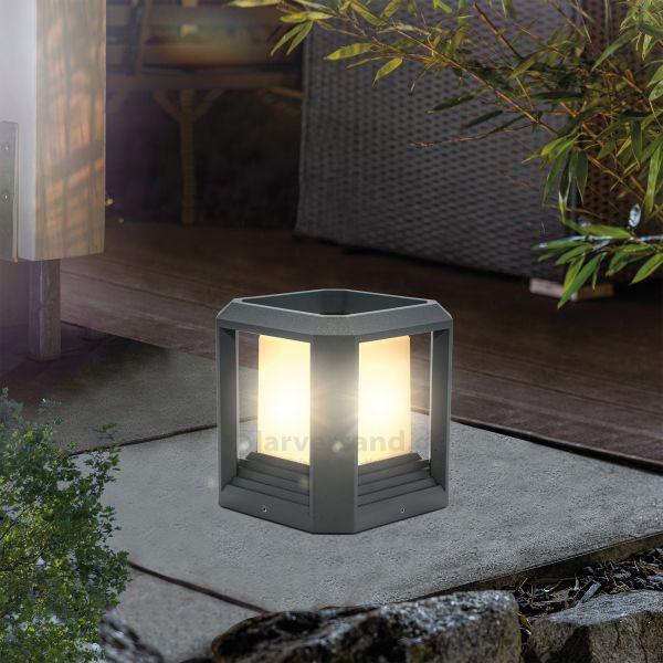 Moderne LED-Bodenleuchte Cube Light 15 cm