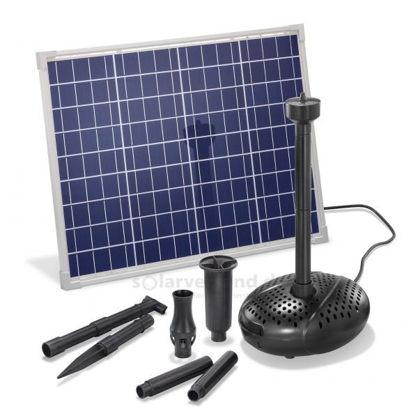Solar Teichpumpenset 50/2500 Professional