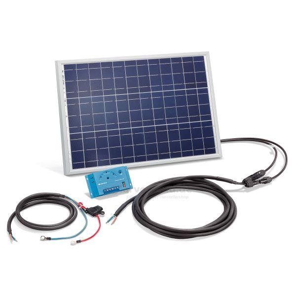 Solar Stromset 20Wp 12V mit 10A Laderegler