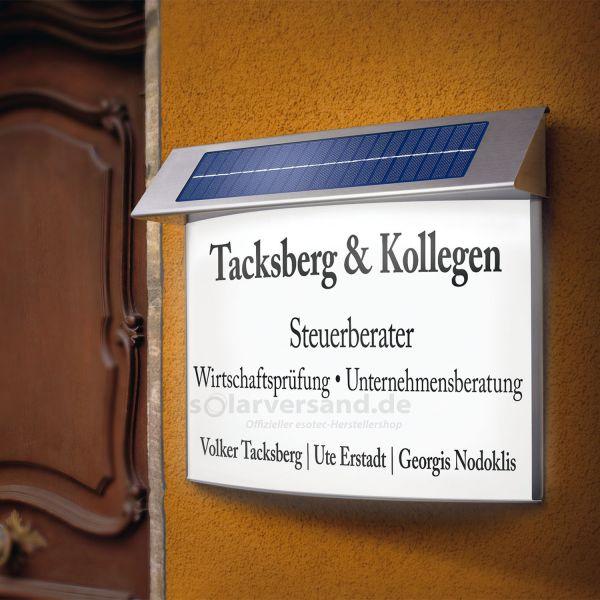 Solar Infotafeln versch. Größen