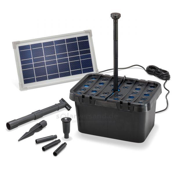 Solar Teichfilter Set Starter 8/380 - 2019