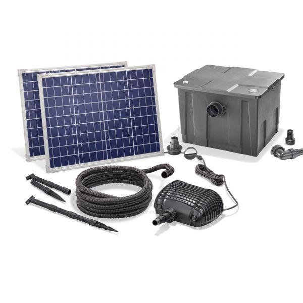 Solar Teichfilter Set Premium 3400/100