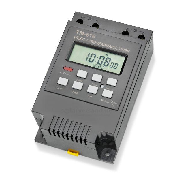 Tages- und Wochen Zeitschaltuhr 12VDC 30A