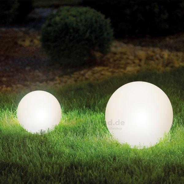 Dekorative Solarkugeln Lumina im 2er-Set