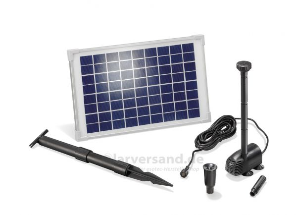 Solar Teichpumpenset WaterSplash 10/610