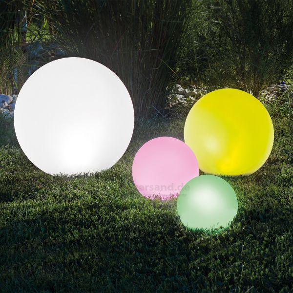Solar Leuchtkugelset 20,30,40 und 50 cm