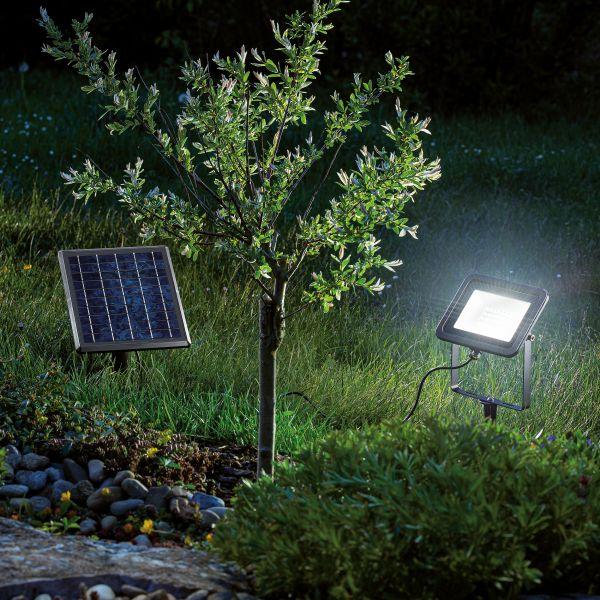 Solar Wand- und Bodenstrahler Power Flood 6000 K