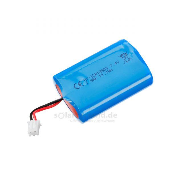 Ersatzakkupack Li-Ion 7,4V 1500 mAh - 901046