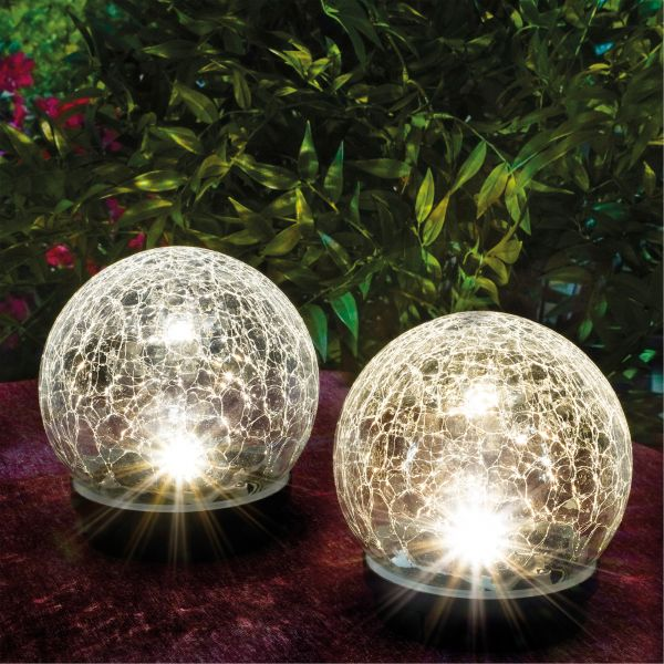 Solarkugel-Set Kristallzauber