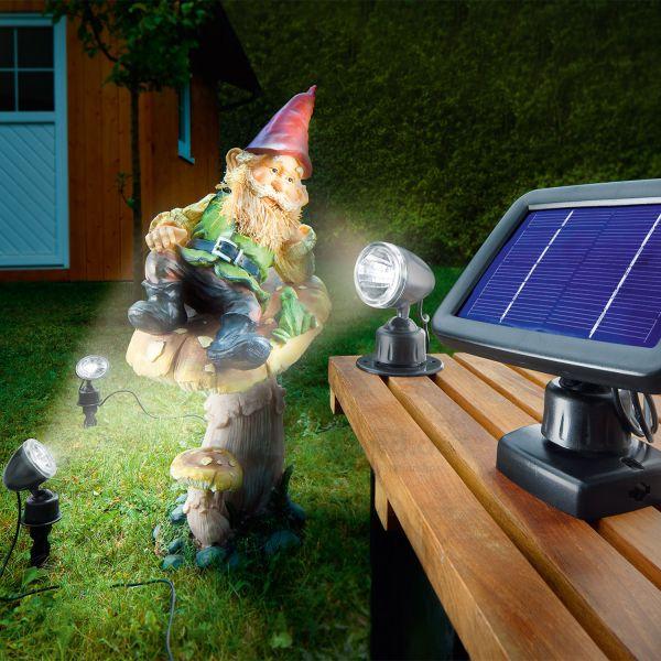 Solar LED Spot Trio