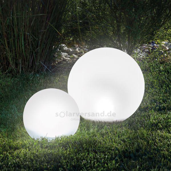 Solar Leuchtkugelset 20 und 30 cm