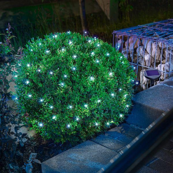 Solar Premium Lichterkette mit 60 LEDs kaltweiß