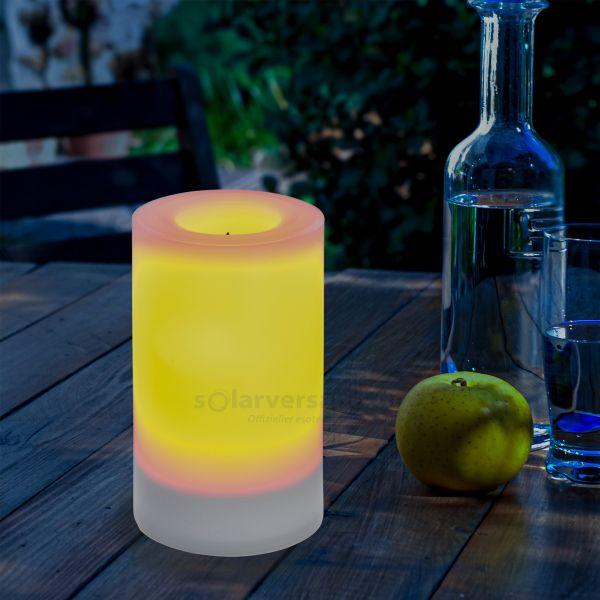 Solar LED-Kerze Mila 75 x 120 mm