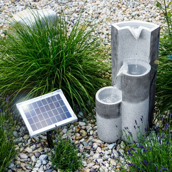 Solar Gartenbrunnen Smart Fountain