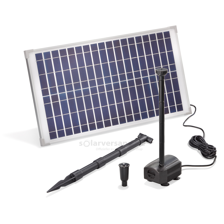 solar teichpumpenset 25 875 professional 18v pumpen mit. Black Bedroom Furniture Sets. Home Design Ideas