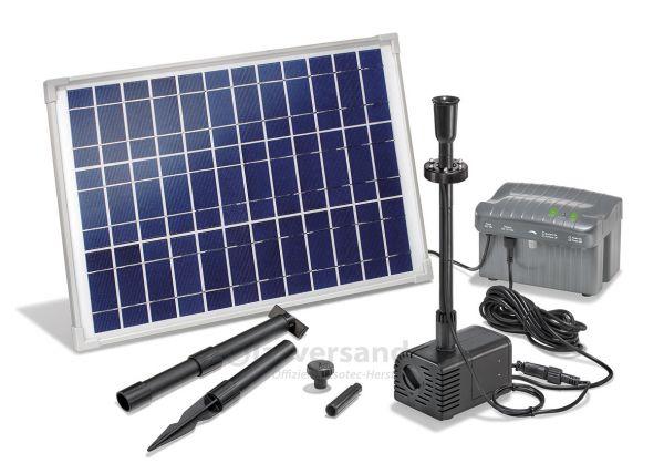 Solar Teichpumpenset Siena LED