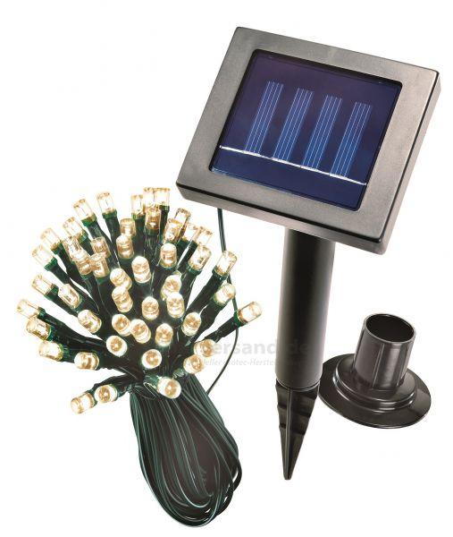 Solar Lichterkette 48 LEDs