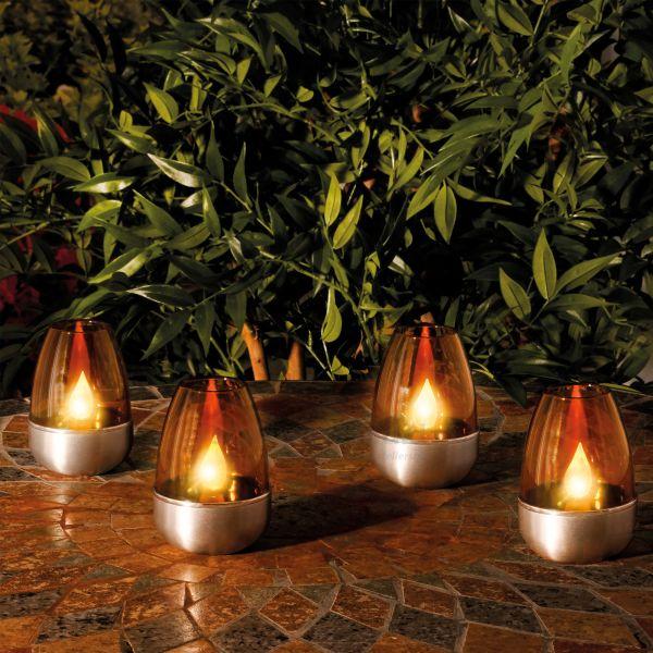 Dekoratives Kerzenleuchten-Set Aluna