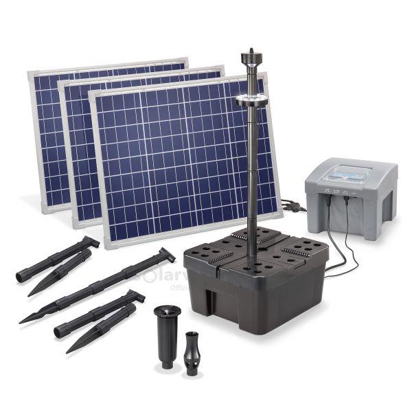 Solar Teichfilterset Profi 150/4000 LED proBatt