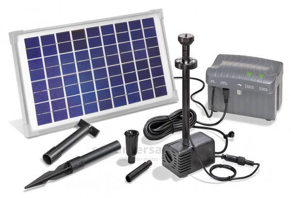Solar Teichpumpenset Napoli LED
