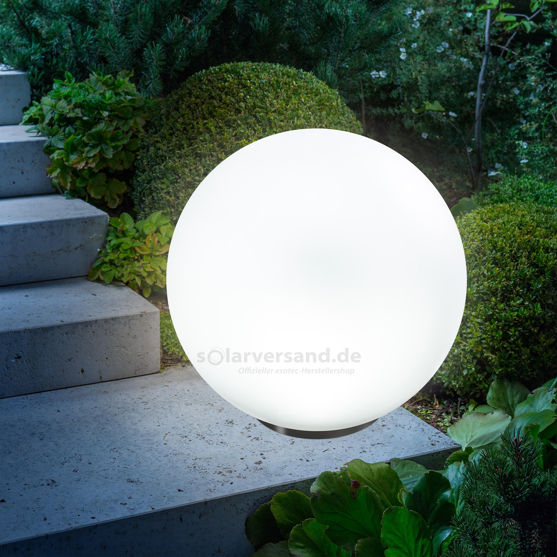 Solar Leuchtkugel 50cm Solarversand De