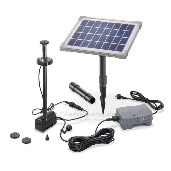 Solar Teichpumpenset 5/160 LED Professional