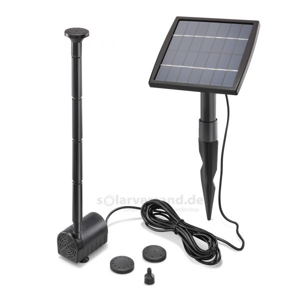 Solar Teichpumpenset 1,5/140 Professional