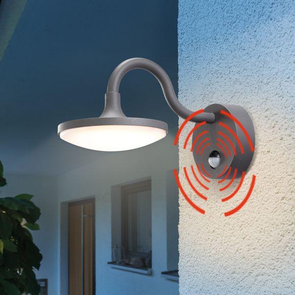 LED Außenwandleuchte TraditionalLine mit Bewegungssensor