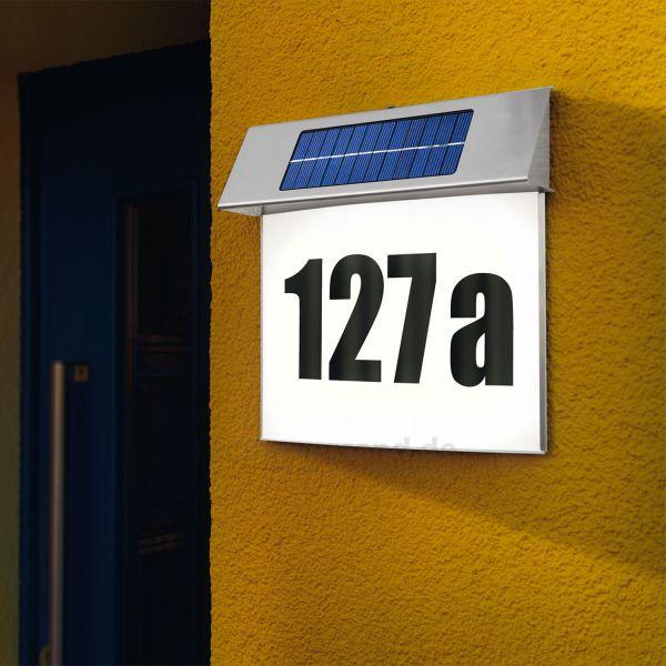 Solar Hausnummer Vision