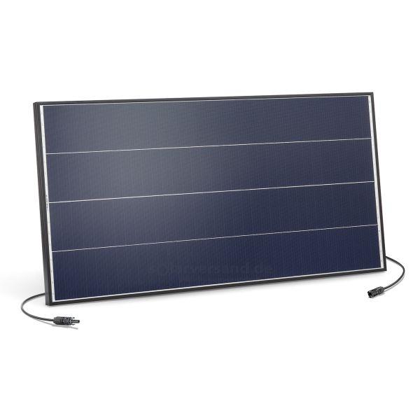 PV-Insel Solarmodul 100Wp 18V MC4 Schindeltechnik