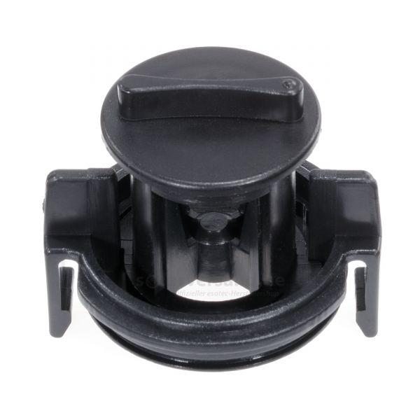 Abdeckung 47.0 mm mit Durchflussregler und Dichtung - 911023