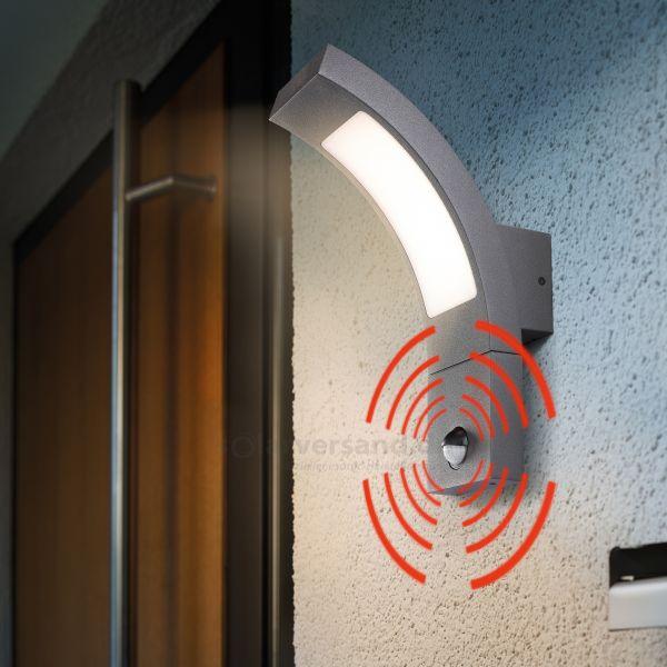 LED Außenwandleuchte SmartLine mit Bewegungssensor