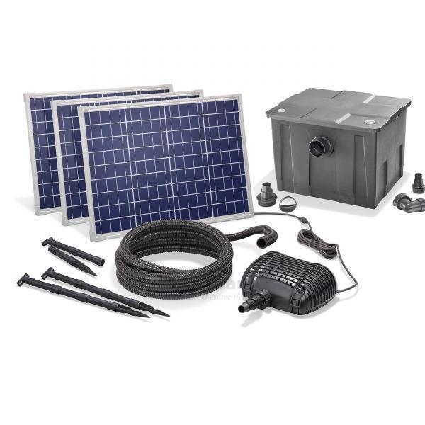 Solar Teichfilter Set Premium 5000/150