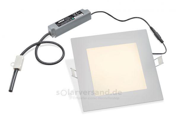 LED Deckeneinbauleuchten 10W eckig