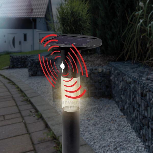 Solar Wegelampe Biella 60 cm mit Sensor