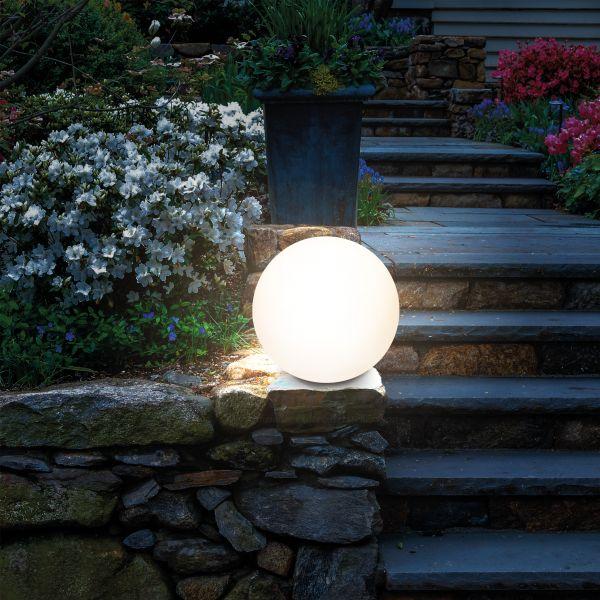 Kugelförmige Solar-Dekoleuchte Lumina 20 cm