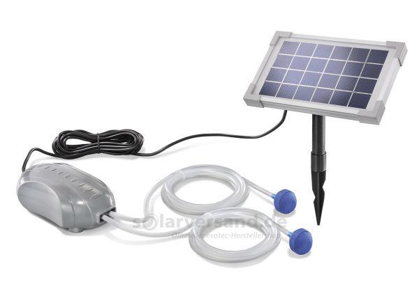 Solar Teichbelüfter Duo Air