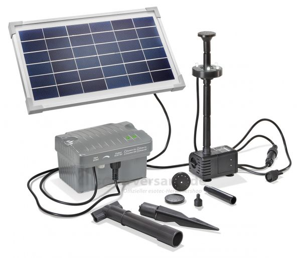Solar Teichpumpenset 8/300 LED Professional