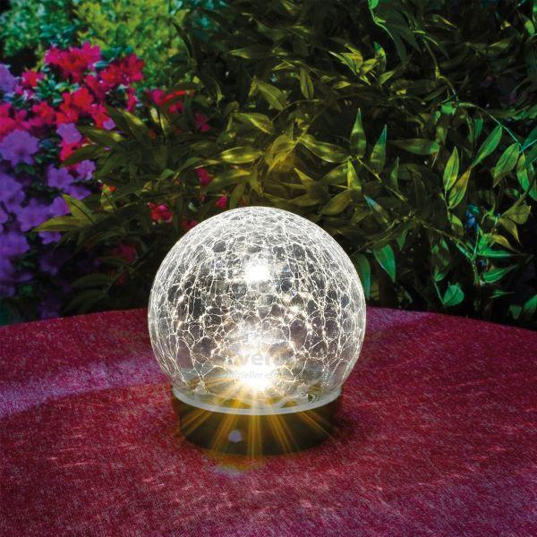 Solar Deko-Kugel Kristallzauber 15 cm