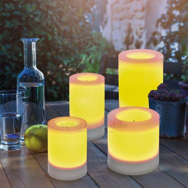 Solar Leuchtkerzen 4er-Set Candela