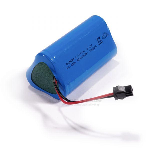 Ersatzakkupack LiFePO4 3 x 3,2 V/ 1500 mAh