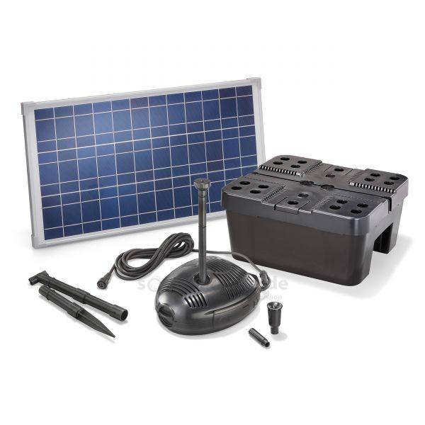 Solar Teichfilter Set Profi 630/25