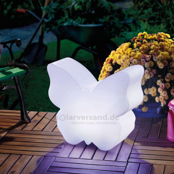 Solar Lichtobjekt Schmetterling