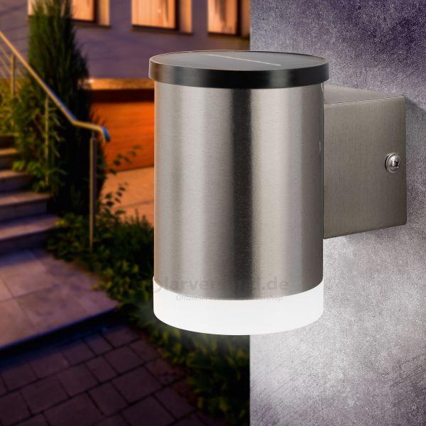 Solar Außenwandleuchte Nadja mit LED