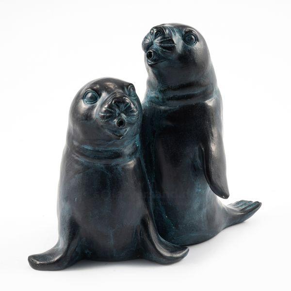Wasserspeier Seehundpaar Paula und Paul