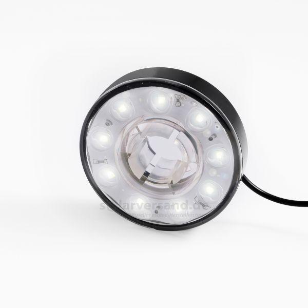 Lichtring mit 9 LEDs kaltweiß 9 - 14 VDC
